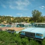 Кладбище автомобилей в штате ЮТА