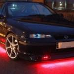 Штраф или лишение прав за подсветку днища автомобиля