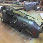 Установка отопителя 968М в ЗАЗ 965